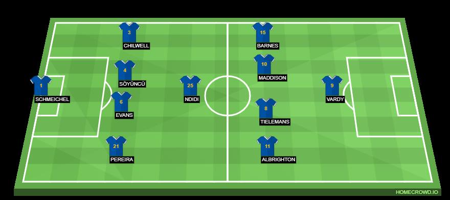 Leicester City Vs Tottenham Hotspur Preview Probable Lineups Prediction Tactics Team News Key Stats